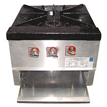 L&J OWST-018-2 Single Burner with 2 Controls Stock Pot Range