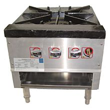 L&J OWST-018-3 Single Burner with 3 Controls Stock Pot Range