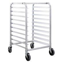 Prepline PASPR-10KD-CCB 10-Tier Heavy Duty Aluminum Steam Table / Bun Pan Sheet Pan Rack
