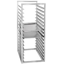Coldline PASPR-16-INS 16-Pan End Loading Insert Aluminum Sheet Pan Rack for Commercial Reach-Ins Refrigerators / Freezers