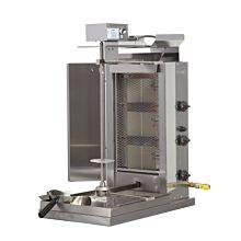 Inoksan PDG103MN-LP Liquid Propane Doner Kebab / Vertical Gryo Broiler Machine - 132 lb. Meat Capacity