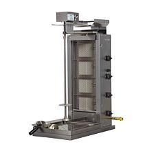 Inoksan PDG104MN-LP Liquid Propane Doner Kebab / Vertical Gryo Broiler Machine - 165 lb. Meat Capacity