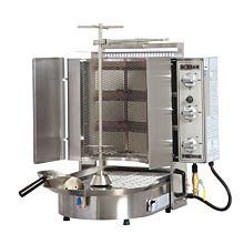 Inoksan PDG300NM-LP Liquid Propane Doner Kebab / Vertical Gryo Broiler Machine - 132 lb. Meat Capacity