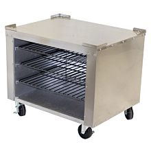 Peerless Oven SPK31 All Stainless Top Sides Oven Stand