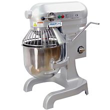 Prepline PHLM10B-T 10 Qt. Heavy Duty Gear Driven Commercial General Purpose Planetary Mixer with Timer