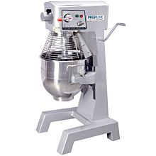 Prepline PHLM30B-T 30 Qt. Heavy Duty Gear Driven Commercial General Purpose Planetary Mixer with Timer