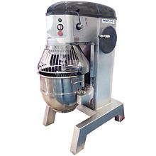 Prepline PHLM60B-T 60 Qt. Heavy Duty Gear Driven Commercial General Purpose Planetary Mixer with Timer