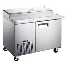 "Coldline PIC1 50"" Refrigerated Pizza Prep Table - 6 Pans"
