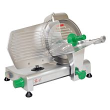 Primo PS-10 Compact Manual 10 inch Blade Belt Driven Meat Slicer