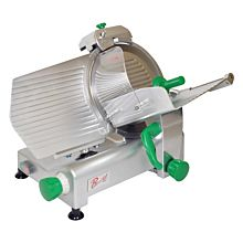 Primo PS-12 Compact Manual 12 inch Blade Belt Driven Meat Slicer