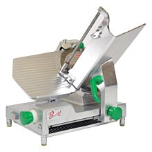 Primo PS-12D Compact Deluxe Manual 12 inch Blade Belt Driven Meat Slicer