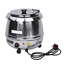 Prepline PSS-6000 Stainless Steel Commercial Soup Kettle, 10 Liter