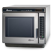 "Amana RC17S2 19"" Heavy Volume 1700 Watts Commercial Compact Microwave, 208-240V"