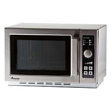 "Amana RCS10DSE 22"" Medium Volume 1000 Watts Commercial Compact Microwave, 120v"