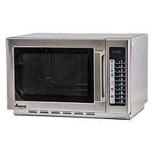"Amana RCS10TS 22"" Medium Volume 1000 Watts Commercial Compact Microwave, 120V"