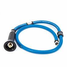 "Himi Instinct IF8001 54"" Commercial High Temperature Neoprene Nylon Braided Replacement Rubber Quick-Connect Hose"