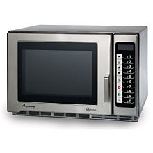 "Amana RFS12TS 22"" Medium Volume 1200 Watts Commercial Compact Microwave, 120V"