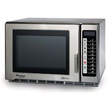 "Amana RFS18TS 22"" Medium Volume 1800 Watts Commercial Compact Microwave, 208-240V"