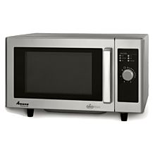 "Amana RMS10DSA 20"" 1000 Watts Commercial Compact Microwave, 120V"