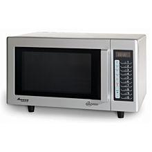 """Amana RMS10TSA 20"""" 1000 Watts Commercial Compact Microwave, 120V"""