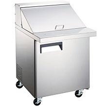 "Universal SC-27-BMI 27"" Mega Top Bain Marie Sandwich Prep Refrigerator, 9 Pans"
