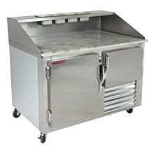 "Universal SC-48-DRT 48"" Refrigerated Stainless Steel Dough Retarder Table"