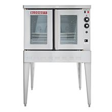 "Blodgett SHO-100-E 38"" Standard Depth Full-Size Single Deck Electric Convection Oven"