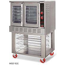 American Range MSD-1-GG Standard Depth Convection Oven, Gas, (2) Glass Doors, Single Deck