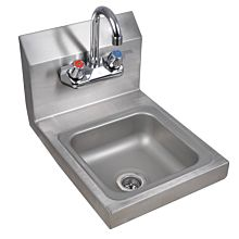 "12"" Stainless Steel Wall Hung Hand Sink with Faucet"