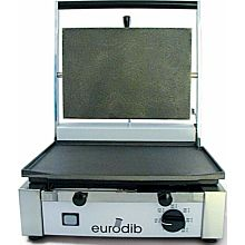 Sirman CORT-R-110 1,700 Watt Panini Sandwich Grill, Single, Ribbed Top & Bottom