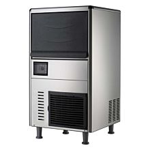 "Coldline ICE80 18"" Undercounter Air Cooled 68 lb. Capacity Cube Shape Ice Machine"