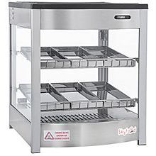 Skyfood FWD2S6P Food Warmer Display Case - Double Shelf 6 Pans - Steam Line