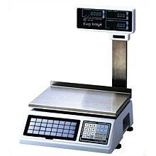 Skyfood PC-100-PL 60 lb Dual Range Electronic Price Computing Scale w/ Elevated LCD