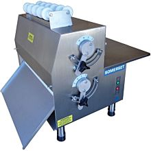 """Somerset CDR-1500 15"""" Electric Countertop Dough Roller, Side Operation"""