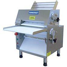 """Somerset CDR-1550 15"""" Electric Countertop Dough Roller, Front Operation"""