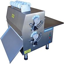 """Somerset CDR-2100 20"""" Electric Countertop Dough Roller, Side Operation"""