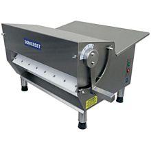 "Somerset CDR-300 Electric Countertop Dough Sheeter, 15"" Rollers"