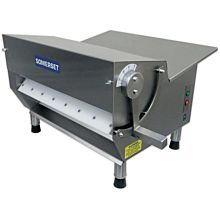 "Somerset CDR-500 Electric Countertop Dough Sheeter, 20"" Rollers"