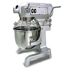 Omcan MX-CN-0020-G 20 Quart Commercial Mixer with Guard - No Timer