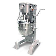 Omcan MX-CN-0030-G 30 Quart Commercial Mixer with Guard - No Timer