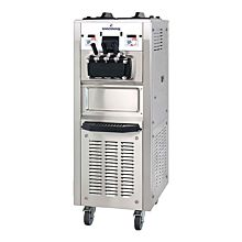 Spaceman 6260AH-1 Soft Serve Ice Cream Machine with Air Pump and 2 Hoppers - 208/230V, 1 Phase