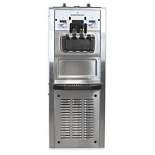 Spaceman 6378AH-3 Two Hopper Soft Serve Ice Cream Machine with Air Pump and Heat Treat - 208/230V, 3 Phase