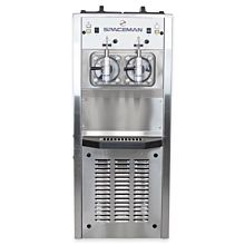 Spaceman 6795H 2 Bowl Slushy / Granita Stainless Steel Floor Model Frozen Drink Machine - 208/230V