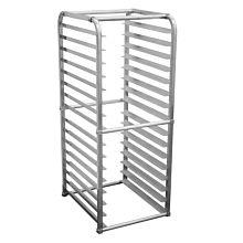 Prepline SPR-16KD-IN 16-Pan Full Size End Loading Insert Aluminum Sheet Pan Rack for Commercial Reach-Ins Refrigerators / Freezers
