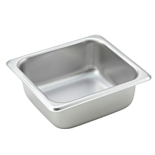 "Winco SPS2 1/6 Size Steam Table Food Pan - 2 1/2"" Depth"