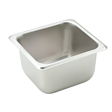 "Winco SPS4 1/6 Size Steam Table Food Pan - 4"" Depth"