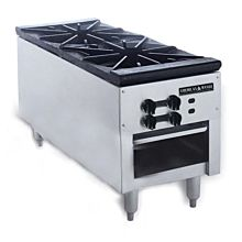 American Range Stock Pot Stove with Low Profile, SPSH-18-2