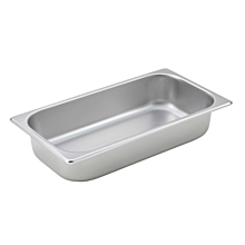 "Winco SPT2 1/3 Size Steam Table Food Pan - 2 1/2"" Depth"