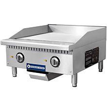 """Standard Range SR-EG24 24"""" Commercial Electric Thermostatic Countertop Griddle, 208-240V"""