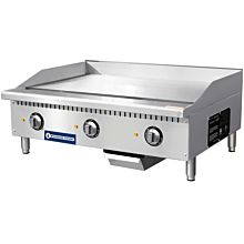 "Standard Range SR-EG36 36"" Commercial Electric Thermostatic Countertop Griddle, 208-240V"